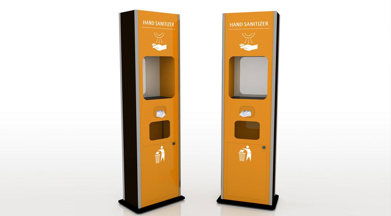 Automatic Hand Sanitiser Dispensers
